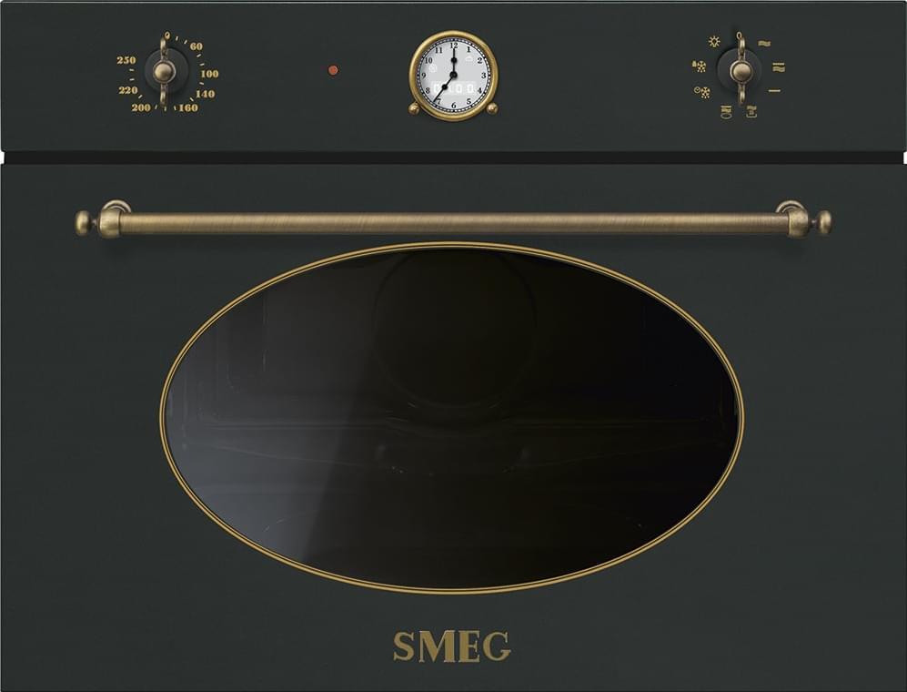 SMEG ماکروفر کامبی اسمگ طرح Coloniale مدل SF4800MCAO