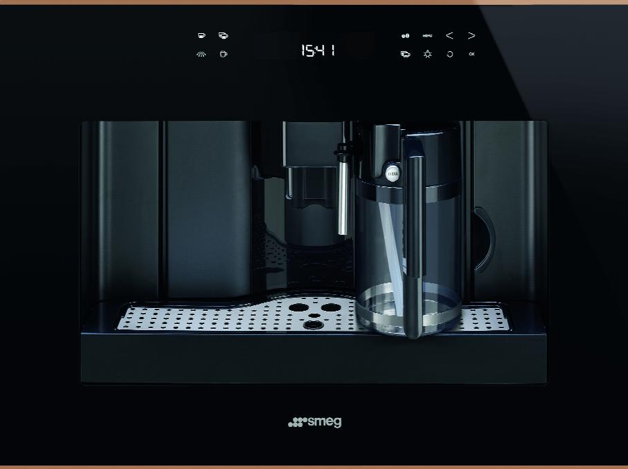 قهوه ساز توکار اسمگ طرح Dolce Stil Novo مدل CMS4601NR