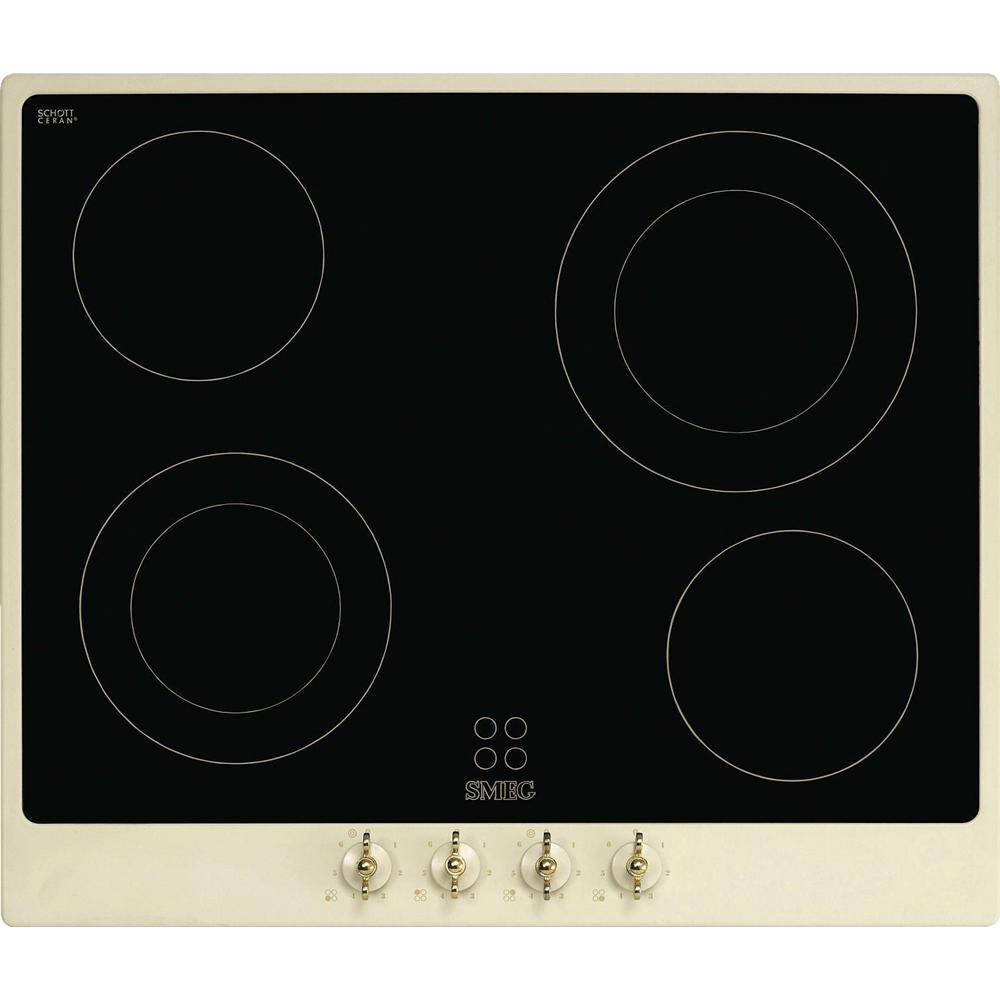 SMEG اجاق صفحه ای المنتی اسمگ طرح Coloniale مدل P864P-9