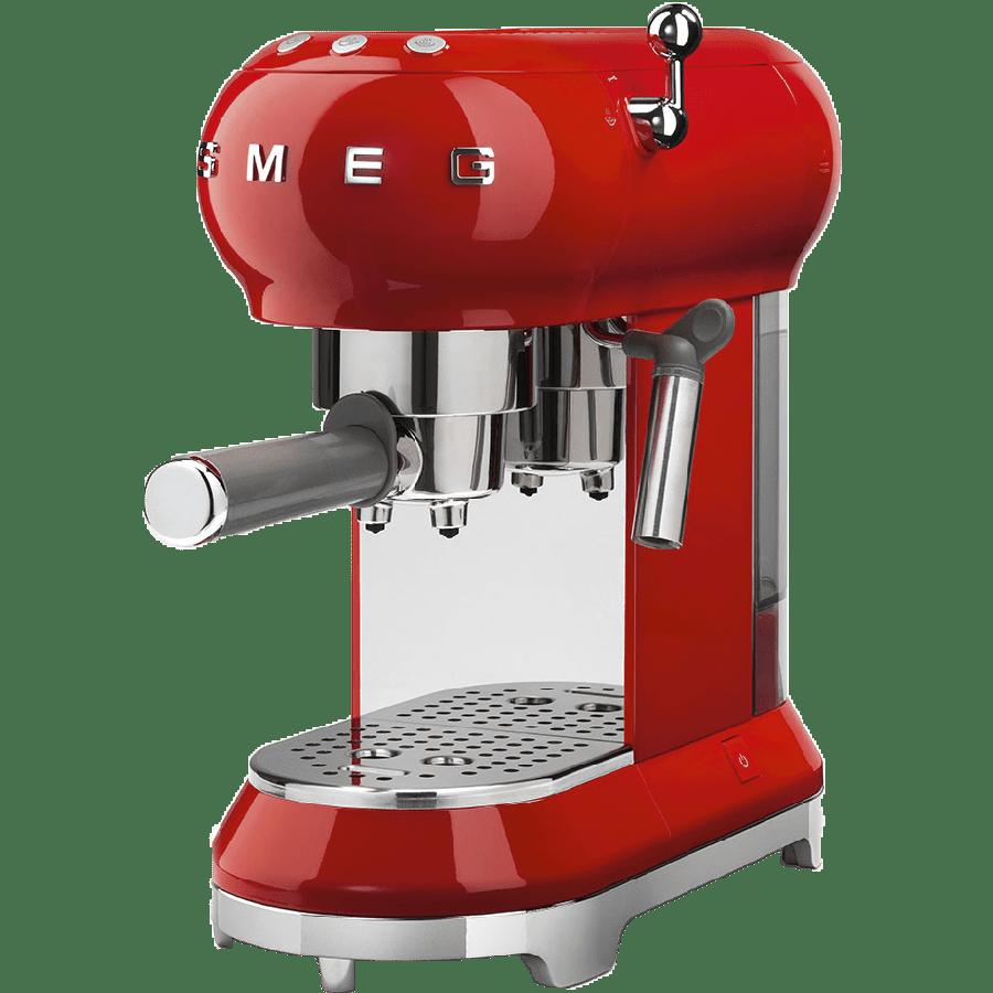 SMEG قهوه ساز رومیزی اسمگ مدل ECF01RDEU